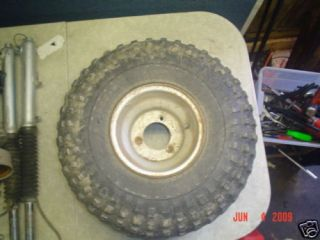 Yamaha DX225 Tri Moto 84 ATV Rim Wheel Tire 22 11 8 ATC