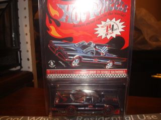 HOT WHEELS 2008 RED LINE CLUB EXCLUSIVE 1966 TV SERIES BATMOBILE