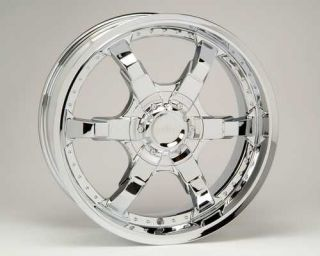 New 22 Pulse Style P4 Chrome Wheels