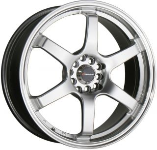 18 Silver Wheels Rims Honda Accord Civic S2000 Celica Scion TC 5x100