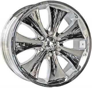 20 22 Chrome Center Cap Rims Wheels Calli 502