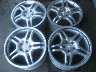 18 AMG Mercedes Alloy Wheels Staggered