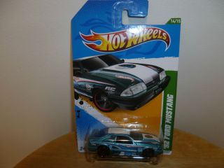 2012 Hot Wheels 92 Ford Mustang Treasure Hunt  RARE HTF