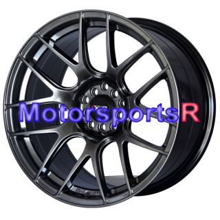 Chromium Black Concave Rims Staggered Wheels 90 91 96 Nissan 300zx TT