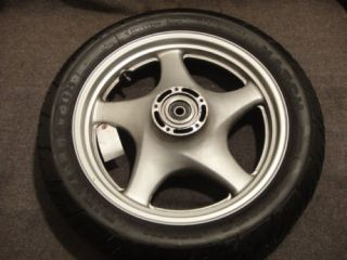 90 91 92 Suzuki VX800 VX 800 Wheel Rear Rim Tire C19