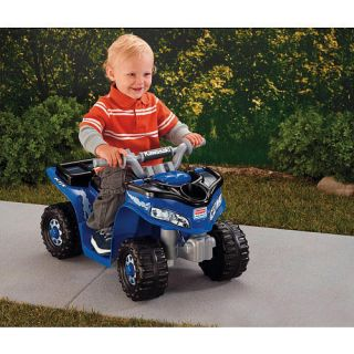 Power Wheels Fisher Price Lil Kawasaki Boys Sport Quad New