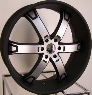 24 KMC Brodie Wheels Rim Ford F150 Expedition Navigator