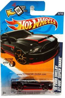 2012 Hot Wheels Faster Than Ever #95 2010 Ford Shelby GT 500 Super