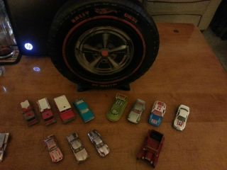 Hotwheels Rally Case 12 vintage lesney hotwheel matchbox cars trucks