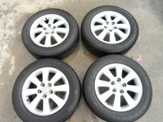 COROLLA OEM 16 ALLOY RIMS WHEELS NO CURB RASH SET 4 RIMS 4 TIRES 95 TR