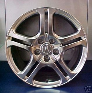 Acura TL A Spec 18 Ebony Black Wheel Rim Genuine