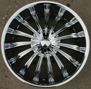 Helios KR07 20 Chrome Rims Wheels Pontiac Malibu 5x110