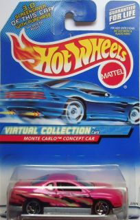 2000 Hot Wheels Virtual Monte Carlo Concept Car Col 109