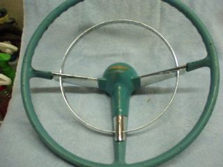 1955 1956 Chevrolet Original Steering Wheel Custom Ratrod