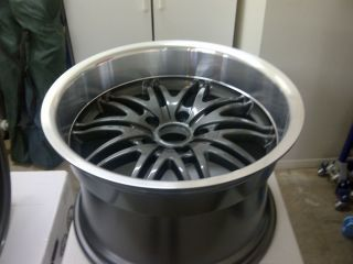 and 17x11 Mustang cobra GT Mach 1 wheels rims 94 04 Also fits 350z G35