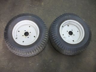 20HP Ranchking Mower Rear Rims and Tires 23x9 50 12