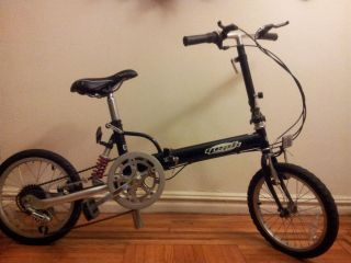 Yeah Folding Bike Bicycle 16 Wheels Shimano 6 Speed YT560