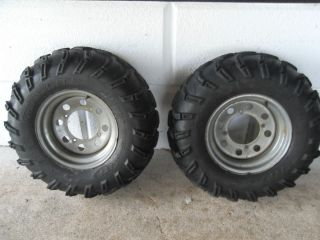 REAR RIMS ITP MUDLITE TIRES 01 polaris sportsman 400 4x4 500 600 700