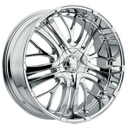 20 Inch Chrome Incubus Paranormal Wheels Rims Chevrolet Trailblazer SS