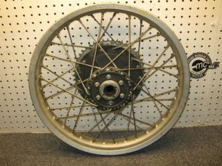 CR250 D I D Aluminim Rear Rim Wheel Assembly Vintage RARE CR125