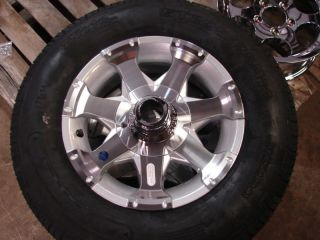 14 Boat Utility Stock Aluminum Trailer Wheels Tires R