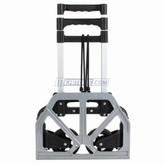 Portable Folding Hand Carts, Lightweight Compact Aluminum Hand Trucks