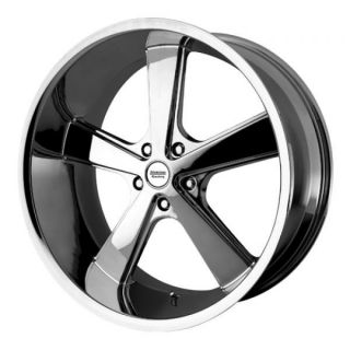18 inch Chrome Nova Wheels Rims 5x4 75 5x120 65 Chevy S10 Blazer GMC