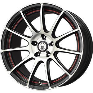 New 17x7 5x110 5x115 Konig Zero in Red Wheels Rims