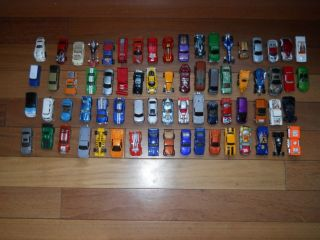 Hot Wheels and Matchbox Diecast Cars Mixed Lot 70 Cars