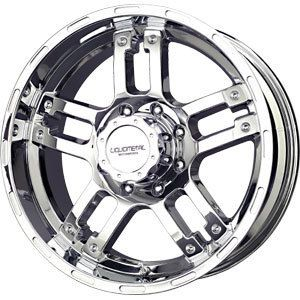 New 18x9 5x127 Liquid Metal Rhino Chrome Wheels Rims