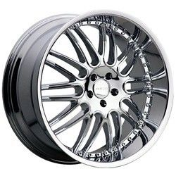 22 inch Menzari Z10 Chrome Wheels Rims 6x5 5 6x139 7 10 Escalade