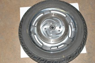 Harley Davidson Touring Front Wheel Rim Tire Rotors Used