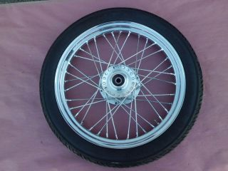 2008 Triumph Bonneville Black 865 Front Wheel Rim Spoke