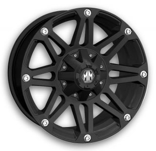 6x135 Navigator Expedition F 150 Raptor Matte Black Rims Wheels