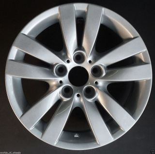 06 07 08 BMW 325i 328i 330i 17 5 Double Spoke Factory OEM Wheel Rim H