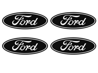 Ford Wheel Hub Rim Center Cap Vinyl Decal Sticker