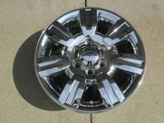 F150 Lariat 18 Chrome Clad factory Oem Rim Alloy 2011 2010 2009 3785