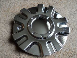 Gio 729 17 18 Chrome Wheel Center Cap BDW729L155