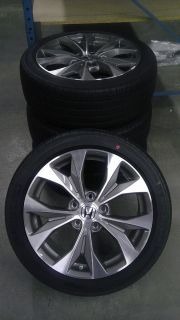 2012 Civic SI Coupe Alloy Wheels and Tire Pkg