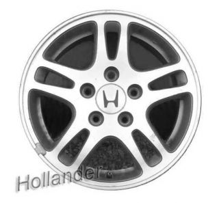 01 02 Honda Accord Wheel 15x6 1 2