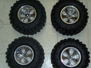 Monster Truck Tires Off Road Tires Wheels and Tires 4 Sets
