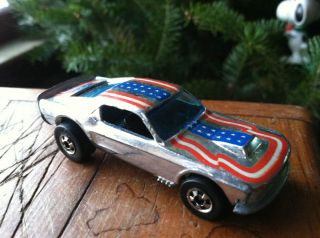Hot Wheels Mustang Stocker blackwall Super Chromes