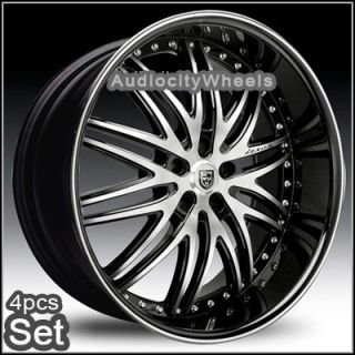 26Lexani LX10 Wheels Rims Chevy Ford Cadillac F150 RAM