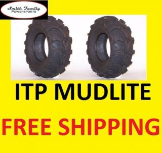 ITP Mud Lite at ATV New 25 Tires 25x11x10 25 11 10