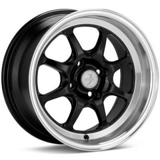 Enkei 4x100 15x8 J Speed Classic Wheel Honda Civic CRX Acura Integra