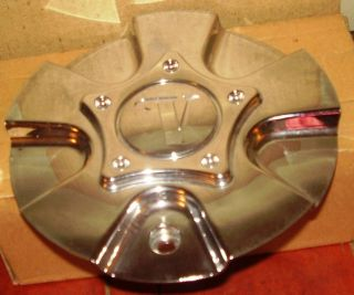 Velocity V Wheels Chrome Custom Wheel Center Caps VW190 Cap TJO5141 1