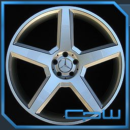 Mercedes Benz MBZ 22 inch Wheels Rims Fits s CL Class S63 S65 CL63