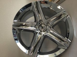 Chrome Jeep Grand Cherokee SRT8 Factory OE Wheels Rims 5x5 20x9