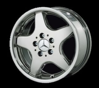 17 Mercedes AMG Style 5 Spoke Chrome Rim Wheels 211 E Class