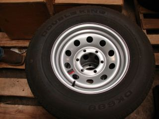 15 Utility Boat Trailer Wheel Tire New s Mod 6 Lug 225B